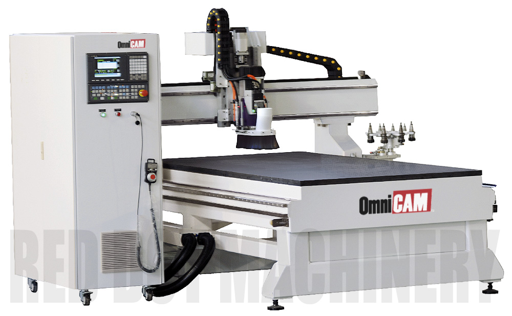 Omnicam Pro Zy10 Industrial Computerised Cnc Router With 8