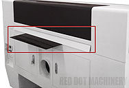 Omnisign Plus PRO Laser Cutter/Engraver/Marker's Rear