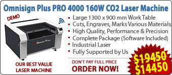 OmniCAM CNC Routers, Omnisign Plus Laser Cutting Machines
